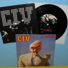 """CIV all twisted Kraut cover song 7"""" Record w/lyrics insert 1995 , youth of today"""