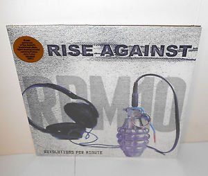 RISE AGAINST revolutions per minute Lp Record WHITE Vinyl SEALED limited edition