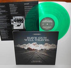 HAVE GUN WILL TRAVEL mergers & acquisitions Lp GREEN Vinyl Record w/lyric insert