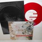 "SHOOK ONES / DEATH IS NOT GLAMOROUS four song Split 7"" RED Vinyl Record w/Lyrics"
