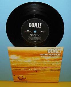"HAPPY MONDAYS / GRAEME REVELL split 7"" Record Vinyl , GOAL"