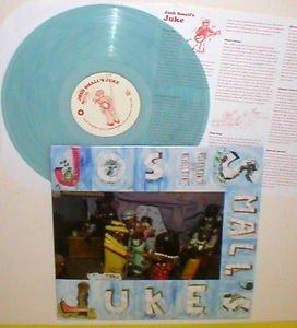 JOSH SMALL juke LP Record Light BLUE-AQUA Vinyl with lyrics insert , tim barry