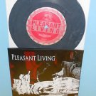 """PLEASANT LIVING s/t ep 7"""" Record A389 GREY Vinyl , HARDCORE , trapped under ice"""