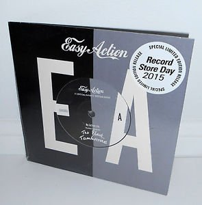 """The BLACK TAMBOURINES easy action 7"""" Vinyl Record , 2015 RSD , record store day"""