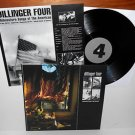 DILLINGER FOUR midwestern songs of the americas Lp Vinyl Record w/ lyrics insert