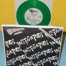 """INSTIGATORS invasion ep 7"""" Record GREEN Vinyl mystic records PUNK"""
