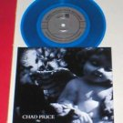 "CHAD PRICE / ROCKY VOTOLATO split BLUE Vinyl 7"" Record waxwing drag the river"