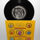 """TOMAHAWK stone letter 7"""" Record with Etched Pic , mr. bungle jesus lizard helmet"""