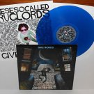 DRUGLORDS OF THE AVENUES sing Lp BLUE VINYL Record , johnny from swingin utters