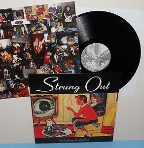 STRUNG OUT suburban teenage wasteland blues Lp Vinyl Record with Bonus Track