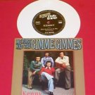 "ME FIRST & The GIMME GIMMES kenny rogers cover songs 7"" WHITE Vinyl nofx"
