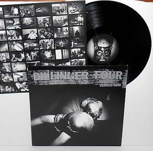 DILLINGER FOUR versus god LP Record Vinyl with lyrics insert