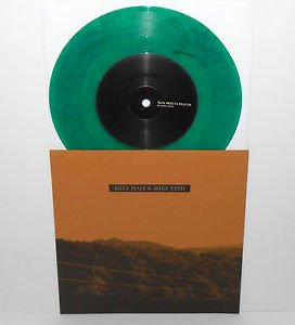"""MIKE HALE / MIKE REED 7"""" GREEN VINYL Record in the red gunmoll small brown bike"""