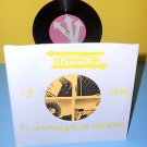 """BOYRACER it's not true grit ep 7"""" Record w/ The SOFTIES Cover Song , OOP Vinyl"""