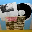 CLOROX GIRLS s/t Lp Record Vinyl w/screen-printed cover/jacket and lyrics insert