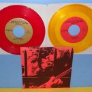 """STARVATION ARMY, MORE FIENDS, the BIG THING comp x2 7"""" Record RED / YELLOW Vinyl"""