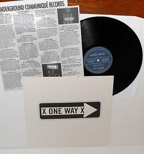 ONE WAY x one way x LP Vinyl Record w/ lyric insert , ex THURSDAY bill henderson