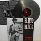 BLOOD FOR BLOOD revenge on society Lp Record SMOKE Swirl Vinyl , very rare color