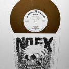 "NOFX s/t self-titled no f-x 7"" GOLD VINYL Record fat wreck chords"