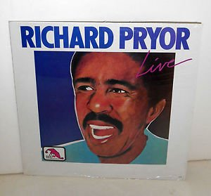 RICHARD PRYOR live LP Record SEALED vinyl , 1983 LAFF Records A229 , comedy