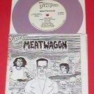 "MEATWAGON 7"" Record PURPLE Vinyl 1989 mystic records"