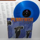 PENNYWISE unknown road LP Record BLUE Vinyl with lyrics insert