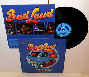 JOEY CAPE BAD LOUD volume one LP Record Vinyl with lyrics insert , lagwagon PUNK