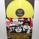 SONIC BOOM SIX ruff guide Lp YELLOW VINYL Record w/ Coolie Ranx pilfers toasters