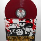 SONIC BOOM SIX ruff guide to Lp RED VINYL Record w/ Coolie Ranx pilfers toasters