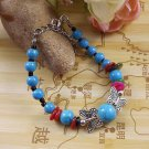 Women's Fashion Jewelry Gift Tibet jade turquoise bead bracelet F-20