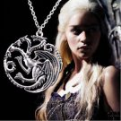 Game of Thrones COSPLAY Metal Necklace Targaryen Pendant-R