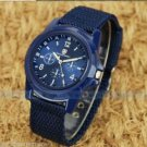 Outdoor men's Stainless Steel Military STYLE Sports Analog Quartz Wrist Watch-R