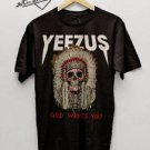 Kanye West Yeezus Tour Merch Shirt Adult Unisex S,M,L,XL,2XL,3XL black tshirt