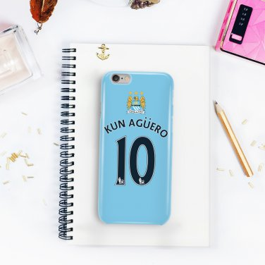 Kun Agüero Manchester City for iphone 6 case, iPhone 6 cover, iPhone 6 accsesories