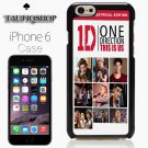 One Direction This Is Us white poster for iphone 6 case, iPhone 6 cover, iPhone 6 accsesories