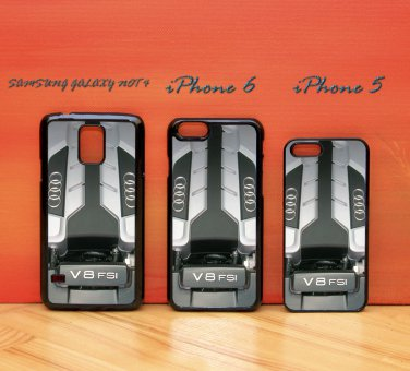 Audi R8 V8 FSI Engine iphone 6 case, iPhone 6 cover, iPhone 6 accsesories