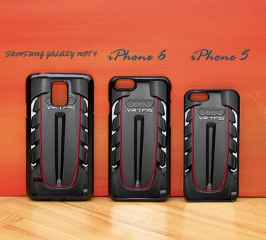 Audi V8 TFSI Engine iphone 6 case, iPhone 6 cover, iPhone 6 accsesories