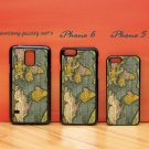 Antique World Map for iphone 6 case, iPhone 5 case, iPhone 7 case, iphone 4 case