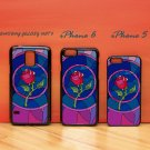 Beauty and Beast rose glass for iphone 6 case, iPhone 5 case, iPhone 7 case, iphone 4 case