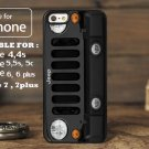 Jeep Wrangler Black for iphone 6 case, iPhone 5 case, iPhone 7 case, iphone 4 case