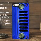 Jeep Wrangler Blue for iphone 6 case, iPhone 5 case, iPhone 7 case, iphone 4 case