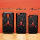 Nike Air Jordan Logo black for iphone 6 case, iPhone 5 case, iPhone 7 case, iphone 4 case