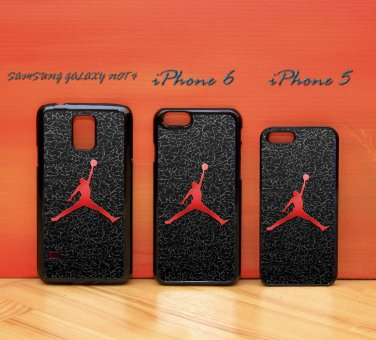 a3dd8f26c1b4 Nike Air Jordan Logo black for iphone 6 case