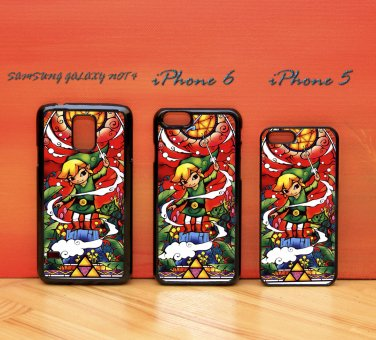 The Legend Of Zelda Stained Glass for iphone 6 case, iPhone 5 case, iPhone 7 case, iphone 4 case