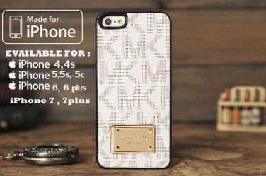 MK Michael Kors White for iphone 6 case, iPhone 5 case, iPhone 7 case, iphone 4 case