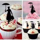 Cp32 cupcake toppers mary poppins Package : 10 pcs