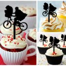 Cp90 cupcake toppers E.T. movie Package : 10 pcs