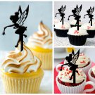 Cp215 cupcake toppers tinkerbell Package : 10 pcs