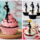 Cp264 cupcake toppers catwoman Package : 10 pcs