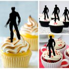 Cp265 cupcake toppers x-men wolverine Package : 10 pcs